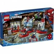 LEGO® Marvel Super Heroes Angriff auf Spider-Mans Versteck (76175)