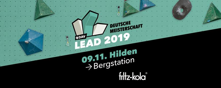 Bergstation ist Austragungsort der Deutschen Meisterschaft Lead 2019