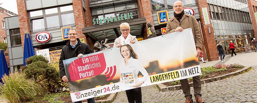 anzeiger24.de – jetzt auch vor Ort in Langenfeld