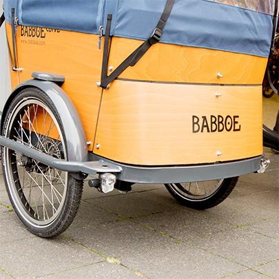 Appelbaum Transportrad Babboe Hilden