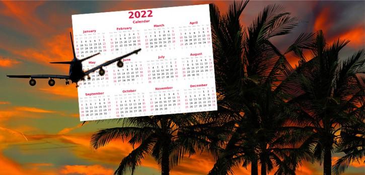 Urlaubskalender 2022 planen: Am besten rund um diese Feiertage
