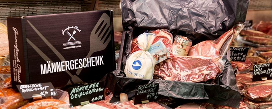 """Gaumenfreude Fleisch Hilden: Fleisch als """"Männergeschenk"""" verpacken"""