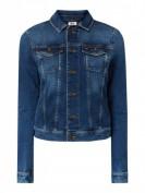 Tommy Jeans Tjw Vivianne Sli -  Jeansjacke mit Logo-Stickerei  - Jeans