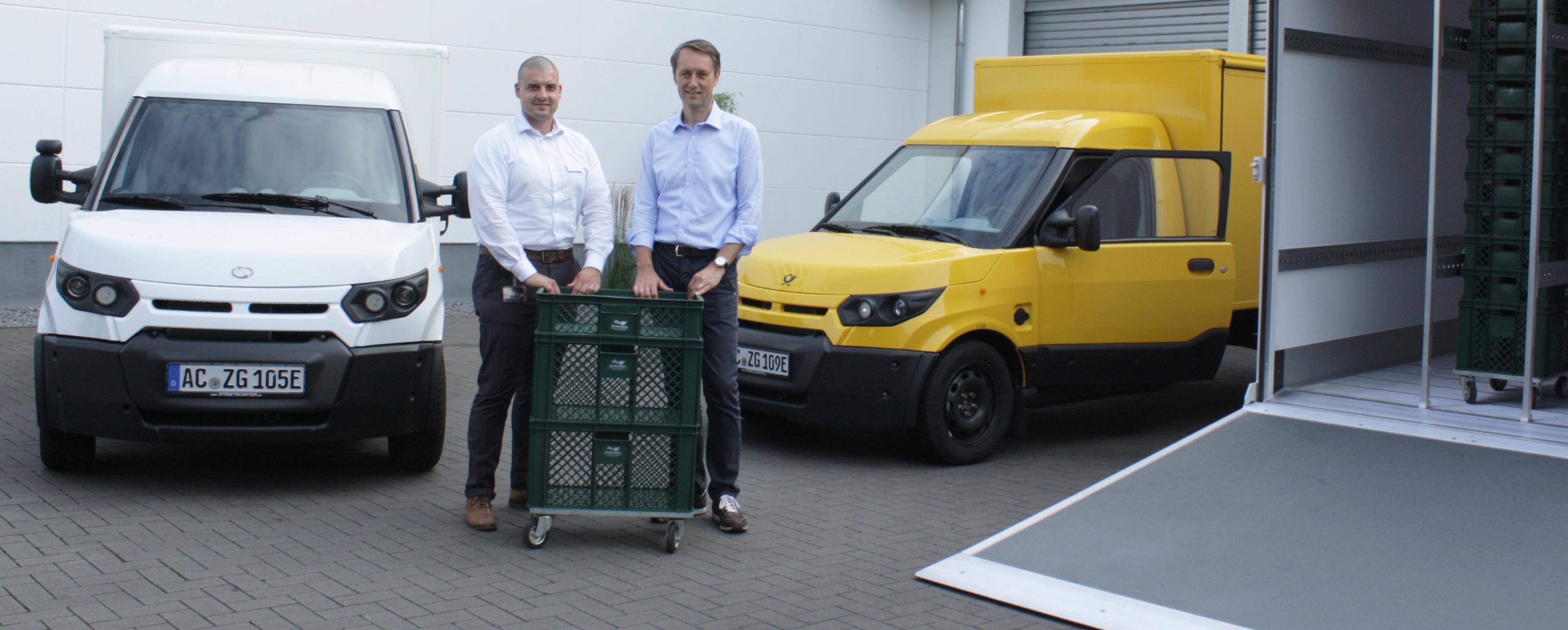 Ihr Bäcker Schüren Hilden lässt E-Fahrzeuge als Lieferwagen bauen