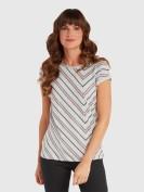 T-Shirt mit Streifen in Bunt – von BONITA