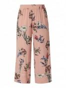 Jake*s Collection  Culotte mit floralen Prints - Rosa