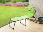 Solax-Sunshine XXL Komfort- Sonnenliege - apfelgrün