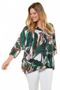 Bluse, Dschungel-Design, Oversized, selection