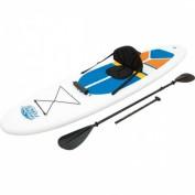 BESTWAY Surfboard SUP & KAJAK SET *WHITE CAP* 305X81X10 CM