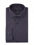 Eterna  Comfort Fit Business-Hemd aus Baumwolle - Mittelbraun