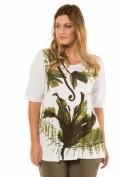 T-Shirt, XL-Blüten, Classic, Ziersteine, selection
