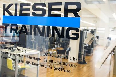 Kieser Training Hilden mit Qualitätskontrolle - Öffnungszeiten