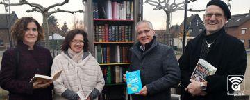 Reusrath: Dritter Bücherschrank für Langenfeld