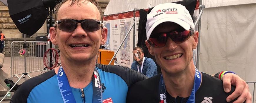 HAT-Triathleten nehmen am Ironman in Hamburg teil