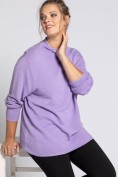 Pullover, Strick in Querrippen, Langarm, selection