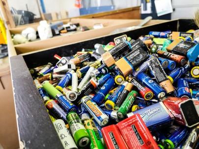Altbatterien Recycling Zentraler Bauhof Hilden