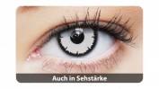 Clearcolor™ Farbige Kontaktlinsen 1-DAY Angelic White Tageslinsen Sphärisch 2 Stück