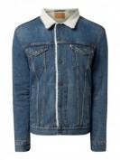 Levi's®  Sherpa Trucker Jacket mit leichter Wattierung - Blau