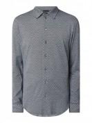 Emporio Armani  Slim Fit Freizeithemd aus Jersey - Jeans