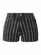 Calvin Klein Jeans  High Rise Jeansshorts mit Stretch-Anteil - Schwarz