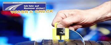 Wash & Check Aktion mit Premio Reifen in Jäckel's Waschpark