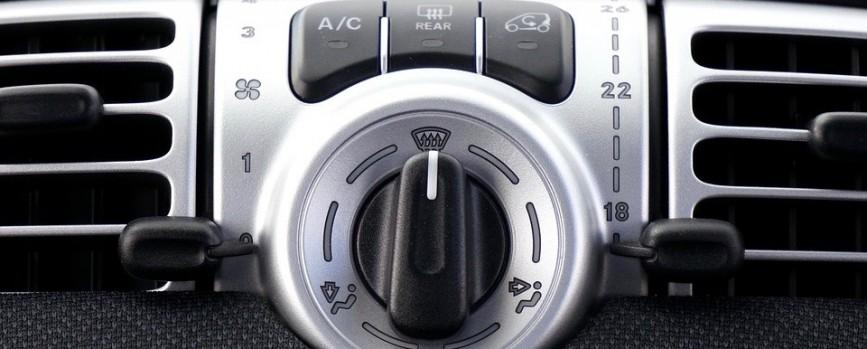 Eine Klimaanlage schützt das Auto im Winter