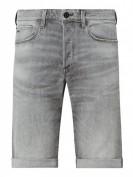 G-Star Raw 3301 Slim Short -  Straight Fit Jeansshorts mit Stretch-Anteil  - Mittelgrau