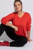 Pullover, V-Ausschnitt, Langarm, Wolle, Feinstrick