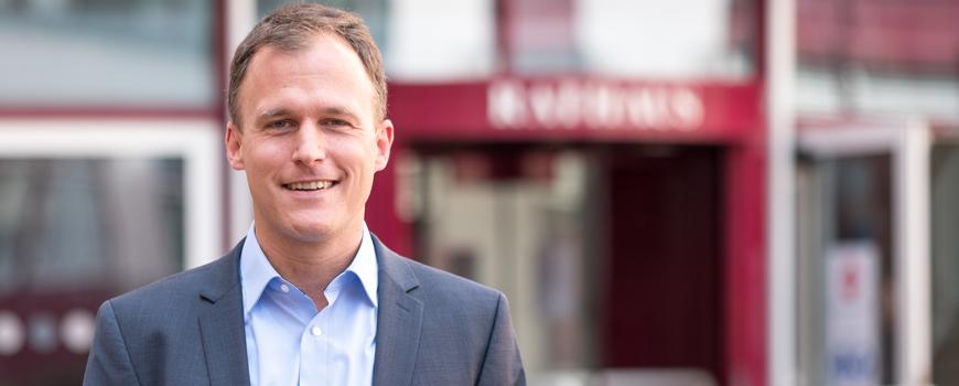 Christian Schwenger ist neuer Leiter der Wirtschaftsförderung