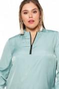 Shirtbluse, Reißverschluss, Glitzer-Details, langer Arm