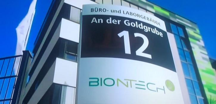 Im neuen BIONTECH Werk in Marburg können genügend Impfdosen für ganz Europa produziert werden