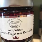 Senfsauce Kirsch-Feige mit Rotwein