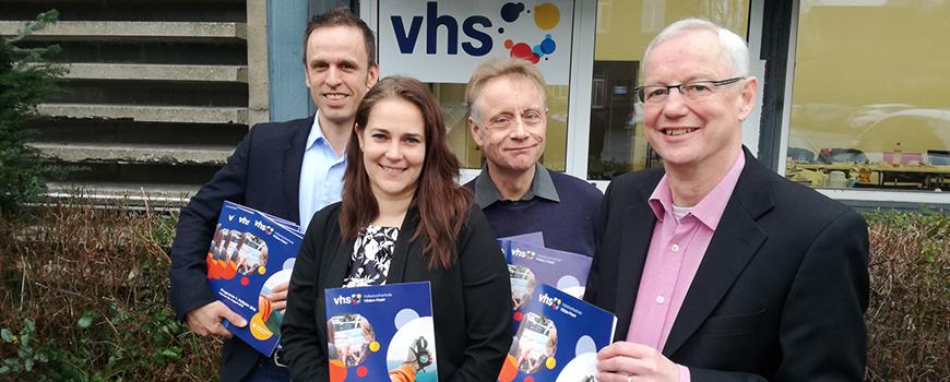 Weiterbildung bei der VHS Hilden-Haan: Neues Team, neues Programm