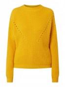 Set  Pullover mit überschnittenen Schultern - Dunkelgelb