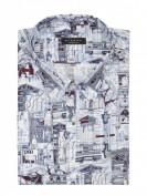 Eterna  Comfort Fit Business-Hemd aus Baumwolle - Marineblau