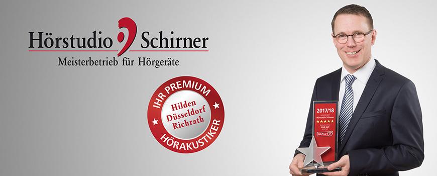 Hörstudio Schirner erhält Premium-HörStar