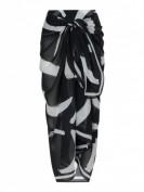 Seafolly  Pareo aus Baumwolle Modell 'New Wave' - Schwarz