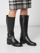 Geox  Stiefel aus Leder mit Respira™-Sohle - Schwarz