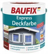 Baufix Express-Deckfarbe skandinavisch rot