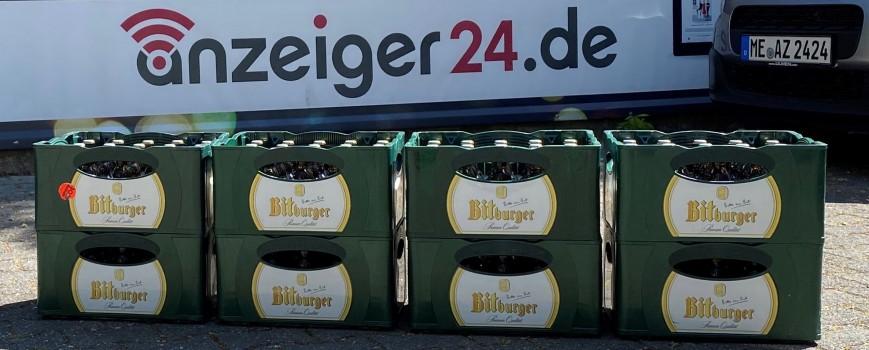 Gewinnspiel: Selgros & anzeiger24 verlosen 8 Kisten Bier zum Vatertag