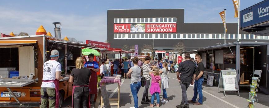 Der Langenfelder Gartentag im KOLL-Vertriebszentrum am Sonntag, 7. April 2019