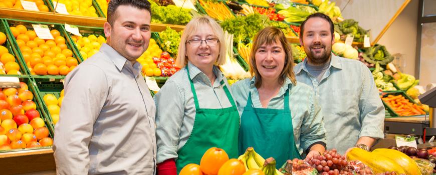 Bewährtes Frischeteam für Obst & Gemüse unter neuer Führung