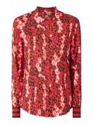Emily Van den Bergh  Bluse aus reiner Viskose - Rot