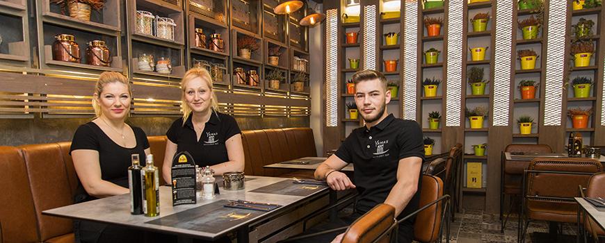 Neues griechisches Restaurant auf der Mittelstraße