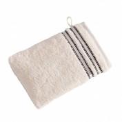 VOSSEN Waschhandschuh weiss